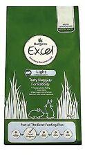 Burgess Excel Light Rabbit Nuggets With MINT 2kg Fp10015c