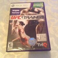 Xbox 360 UFC Personal Trainer: The Ultimate Fitness System Kinect game and case