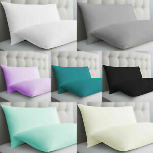 5* 100% EGYPTIAN COTTON 500 THREAD COUNT HOUSE WIFE PILLOW CASES PACK OF 2