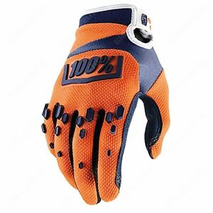 100% 443003.M Guanti 100% Airmatic orange tg. M