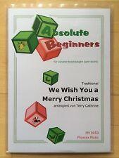 We Wish You A Merry Christmas: 4-st. Arr. für flexibles Ensemble/Orchester