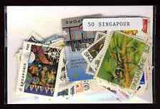 Singapour 50 timbres différents