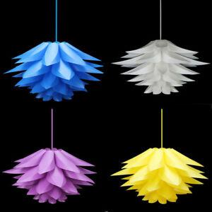 Modern Lotus Chandelier Pendant Ceiling Hanging Design Lamp shades DIY Decro Q