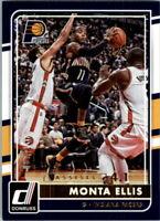 2015-16 Donruss Assists Indiana Pacers Basketball Card #66 Monta Ellis /41