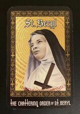 SxSW Good Omens Chattering Nuns Prayer Card & Poster~David Tennant~Martin Sheen