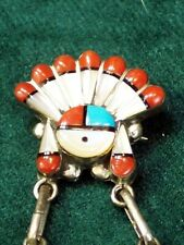Zuni Jewelry - Sterling Inlay Pen or Pendent