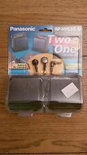 Panasonic Two In One Speakers System With Stereo Earphones RP-HVS20 SEALED