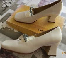 Elégantes Chaussures Escarpins cérémonie/mariage SAN MARINA TOUT CUIR ivoire 37