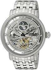 Stuhrling 411 33112 Symphony DT Automatic Dual Time Stainless Steel Mens Watch