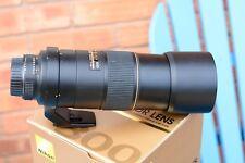 NIKON AF-s 300mm f4 D -ED PRIME - IN GOOD CONDITION  UV FILTER,,CAPS, CASE & BOX