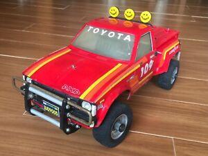 Vintage Tamiya Toyota 4x4 Pick Up 58028 Hilux Blazing Blazer