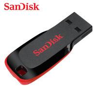 SanDisk Cruzer Blade  CZ50 8GB 16GB 32GB 64GB USB 2.0 Flash Pen thumb Drive