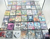 Huge lot of 45 Sony Playstation 2 Video Games Multiple Titles Genres and Ratings