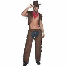 Fever Ride Em High Wild West Cowboy Sexy Mens Adults Fancy Dress Costume