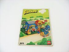 Vintage 1987 LEGO Fabuland General Store 3675 Instruction Booklet