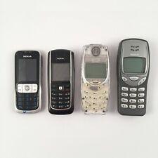 Lote NOKIA: 2630 + 3210 + 3310 + 6020 (Locked)