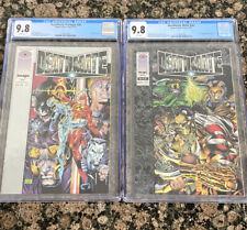 Deathmate Black NN 1st Gen 13 Valiant Comics 1993 & Prologue NN Both CGC 9.8