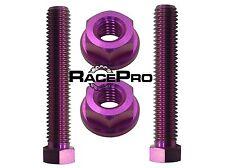 RACEPRO - Violeta pernos de ajuste Titanio Para Cadena Eje - Aprilia Rs125 06+