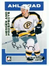 """BRAD BOYES """"AUTOGRAPH CARD"""" ITG HEROES & PROSPECTS 06/07"""
