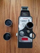 Vintage Sunscope Turret 8 w/Tele Cine 8mm movie camers -Vintage