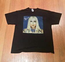 New listing Cher 2003 Farewell Tour Concert T-shirt Rare Screen Print Size Xl