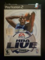 NBA Live 2001 Sony PlayStation 2 WITH CASE & MANUAL BUY 2 GET 1 FREE