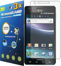 3x Clear LCD Screen Protector Cover Guard Film for Samsung Infuse SGH‑i997