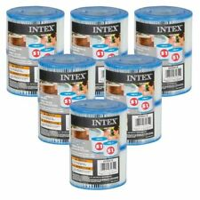 6 x Twin Pack Intex Type S1 Filter Cartridge for Purespas, hot tub, spa