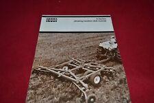 Case Tractor D Series Disk Harrow Dealer's Brochure YABE14