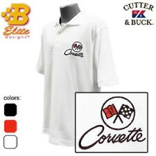 C2 Corvette Embroidered Men's Performance Polo Shirt BDC2EP8016