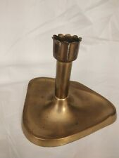 Antique Geschutzt Austrian Art Deco Bronze Candlestick Candle Holder 4""