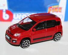 Burago - FIAT Nuova Panda (Red) - 'Street Fire' Model Scale 1:43)