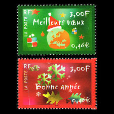 France 2000 - New Year Stamps - Sc 2793/4 MNH