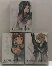 Gunslinger Girl  Vol 1, 2 & 3.