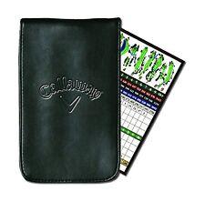 Callaway Golf Leather Scorecard Holder