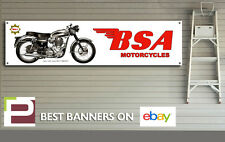 BSA Goldstar Motorcycle Banner for Workshop, Garage, Man Cave, 1300mm x 325mm