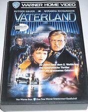 Vaterland - VHS/Thriller/Krieg/Rutger Hauer/Miranda Richardson/Warner