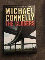 MICHAEL CONNELLY THE CLOSERS FIRST EDITION Hardcover
