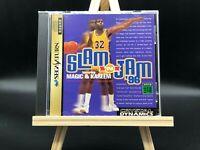 Slam 'N Jam '96 Featuring Magic & Kareem (Sega Saturn, 1996) from japan #3051