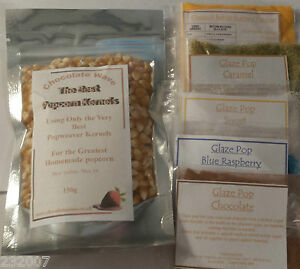 DIY Home Popcorn Kernels 150g with 5 x flavours 20g x5