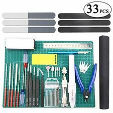 33 PCS Gundam Model Tools Kit Modeler Basic Tools Craft Set Hobby Building Tools