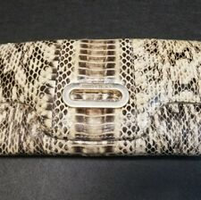 Authentic Jimmy Choo Python Skin Wallet