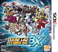 Nintendo 3DS Super Robot Wars BX Taisen Japan F/S