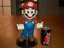 "Super Mario Nintendo Statue -12"" Plastic Figure Game Room Display Stand Piece"