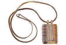 Lanvin Paris Two-Tone Necklace