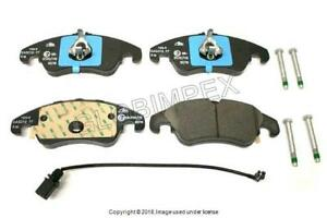 Audi A1 8X Hatchback 8//2010-/> 1.0 1.2 1.4 Front Brake Pads With Wear Lead