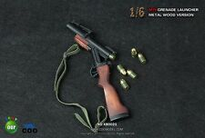 """COOMODEL COO Metal & Wood M79 Grenade Launcher 1/6 Fit for 12"""" Action Figure"""