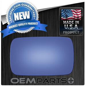 BMW 3 SERIES M3 M5 DROP FIT FLAT LH POWER MIRROR REPLACEMENT GLASS BLUE 2681 USA