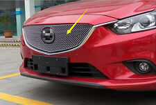 2013-2016 For Mazda 6 M6 Atenza Mesh Honeycomb Shape Front Centre Grille Cover