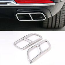 Mercedes Benz GL Class X166 S R Class w222 w251 dual exhaust tips cover
